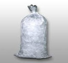 unprinted ice bags