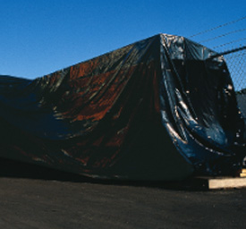 clear poly tarp