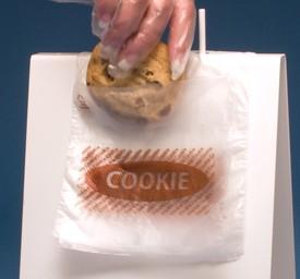 flip top saddle pack cookie bag