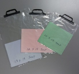 snap handle bags